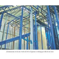 Buy cheap Spray-coating Equi... Aluminum section vertical wood grain coating production line from Wholesalers