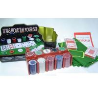 Buy cheap POKER CHIPS 65199 200PCS POKER CHIP SET from wholesalers
