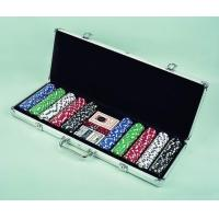 Buy cheap POKER CHIPS 61183A 500PCS POKER CHIPS IN ALUMINIUM BOX from wholesalers