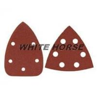 Buy cheap Fiber Disc Delta/Triangular Sanding Sheets, Aluminium Oxide from wholesalers