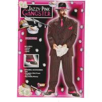 Buy cheap Jazzy Pink Gangster Suit Adult Costume from wholesalers
