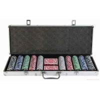 Buy cheap 500pcs poker chip set from wholesalers