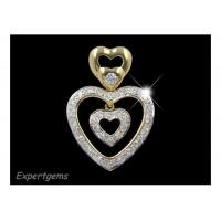 Buy cheap Heart in Heart Diamond Pendant from wholesalers