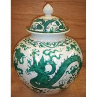 Buy cheap 14h green dragon covered jar from wholesalers