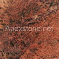 Buy cheap Imported Granite Juaparana Bordeaux from wholesalers