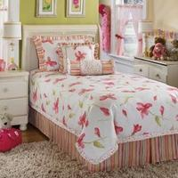 Buy cheap sheet bedding  Kaelyn-Blossom Twin Bedding Set includes: 1 Oversized comforter. 1 Bed skirt (17 inch drop). 2 Pillow shams (1 Pillow sham in twin). 2 Decorative accent pillows. DRY CLEAN ONLY. Features: 1 Bed skirt 2 Pillow shams 2 Decorative accent pillo from wholesalers
