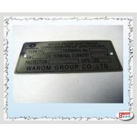 Buy cheap Metal Label Stainless Steel from wholesalers