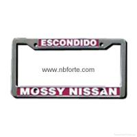 Buy cheap ABS chrome license plate frame from wholesalers