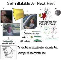 Buy cheap Car Seat Cover Self-inflatable Air Neck Rest from wholesalers