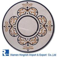 Buy cheap water-jet marble inlay KRT-PW017 from wholesalers
