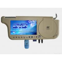 Buy cheap Sunvisor car DVD 7inch Sun visor DVD monitor with Touch Screen with TV with FM Transmission from wholesalers