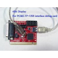 Buy cheap POST debug card 4-Bit display PC POST debug Analyzer card from wholesalers