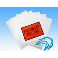 Buy cheap Other Bags LDPE Packing List Envelope from wholesalers