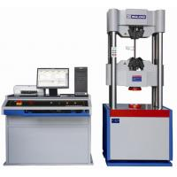 Buy cheap WAW series (dual space) electrohydraulic servo universal testig machine is ideal for high-capacity tension, compression, bend/flex, and shear testing, these machines are guaranteed to meet the relativ productsnew from wholesalers
