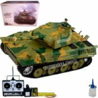 Buy cheap RC Military Toy R/C 1:16 German Panther Smoking Tank from wholesalers