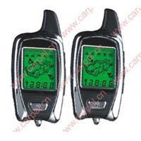 FSK Two-Way LCD Pager Car Alarm System with Engine Starter