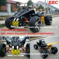 Buy cheap EEC 300CC Improve Kawasaki Racing Quad(SPY300F1) from wholesalers