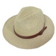 Buy cheap Men's/Women's Paper Classic Summer Hat, Ivory from wholesalers