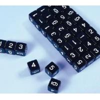 Buy cheap Mathematics Basic Numeric Black Dice Product Code: PEY60016 from wholesalers