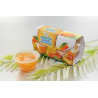 Buy cheap Mandarin orange in plastic cup in light syrup from wholesalers