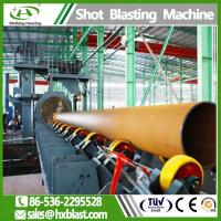 Buy cheap Shot blasting machinery QGW / QGN Steel Pipe shot blast machine for sale from wholesalers