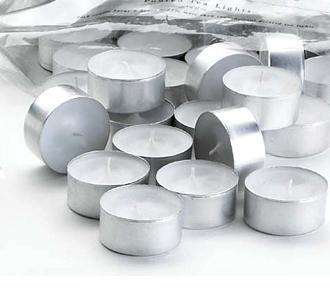 Quality Supplies Tea Light Candles - 50 Pack for sale