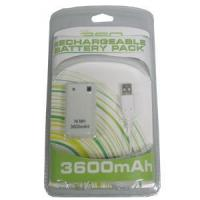 Buy cheap Game accessories for Microsoft 3600mAh Rechargeable Battery Pack For Xbox 360 Controller from wholesalers