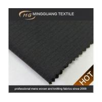 Buy cheap hot sell poly viscose best fabric for trousers black kevlar fabric from wholesalers