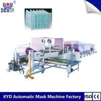 Buy cheap Pocket Air Filter Making Machine With Ultrasonic from wholesalers