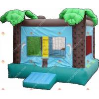 Buy cheap Inflatable Bounce Coconut Tree Jump Bounce from wholesalers