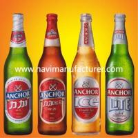 Buy cheap Customized coated paper beer labels for Germany market from wholesalers