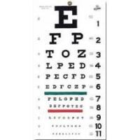 Buy cheap Snellen Eye Chart - 20' from wholesalers
