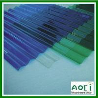 Buy cheap Corrugated Polycarbonate Sheet from wholesalers