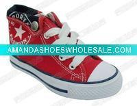 Buy cheap 2012 kids'/children's star rubber canvas shoes from wholesalers