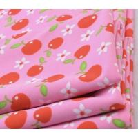 Buy cheap Soft knit polyester spandex DTY jersey apple print fabric from wholesalers