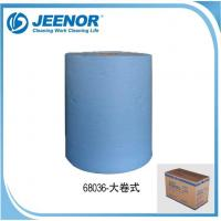 Buy cheap Blue Color Enhanced Automotive Cleaning Paper Towel Jumbo Roll from wholesalers