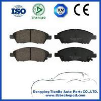 Buy cheap NISSAN brake shoes Nissan Livina Low Noise Ceramics Painted Plastic Front Brake Pad from wholesalers