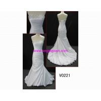 Buy cheap V0221 sexy wedding dress with crystal from wholesalers