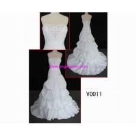Buy cheap Classical Wedding Dress Product V0011 gorgeour beaded gunagdong design hot sell wedding gown from wholesalers