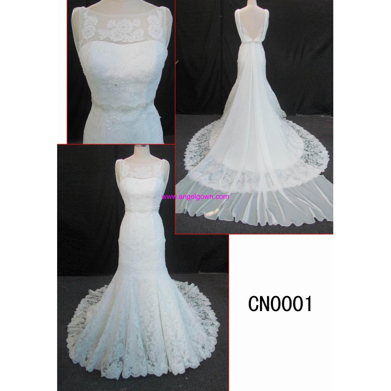 Buy cheap CN0001 2013 latest latest design fashion beading lace mermaid wedding gown from wholesalers