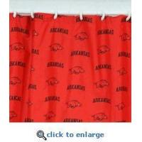 Buy cheap Arkansas Razorbacks Shower Curtain Cover 70 X 72 from wholesalers