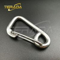 Buy cheap stainless steel swivel snap hook clips with stainless steel eyelet hooks from wholesalers