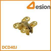 Buy cheap 42mm Zamac Invisible Hinges in Gold Finish DCD40J Cabinet hinge from wholesalers