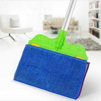Buy cheap Trending Products Rotating Flat Aluminum Telescopic Pole Floor Mop from wholesalers