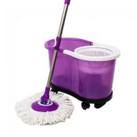 Buy cheap Squeeze mop bukcet with wringer plastic bucket mop from wholesalers