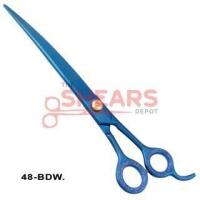 Buy cheap Pet Grooming Scissors Dog Grooming Shears - Down curved - Blue Titanium 48-BDW from wholesalers