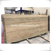Buy cheap ES-T01 Italy Silver Grey Travertine marble floor and wall tiles in factory prices from wholesalers