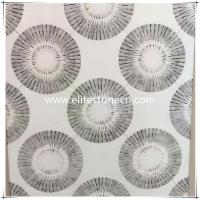 Buy cheap ES-W11 Hot-selling Flower Shape Waterjet White Mosaic Marble Tile For Floor from wholesalers