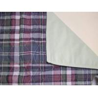 Buy cheap Plaid Quilted Bed Pad from wholesalers