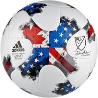 Buy cheap adidas 17 MLS Top Glider White/Blue/Red Soccer Ball - model AZ3213 from wholesalers